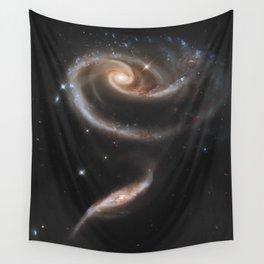 Pair of Galaxies Wall Tapestry