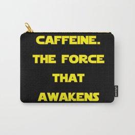 Caffeine Awakens (Dark) Carry-All Pouch