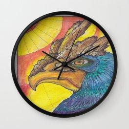 El Avion del Sol Wall Clock