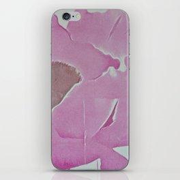 Watercolor Pink Poppy iPhone Skin