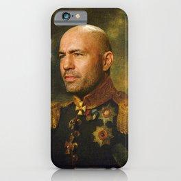 Joe Rogan Poster, Comedian, Podcast, Classical Painting as General, Regal art iPhone Case