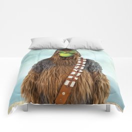Chewbacca in The Son of A Man Comforters