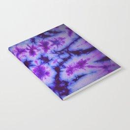 Tie Dye in Blue and Purple Notebook