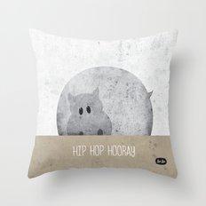 Hip Hop Hooray Throw Pillow