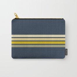 Gracia - Classic 60s Retro Stripes Carry-All Pouch
