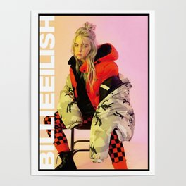Billie Eilish Merch Poster