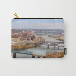 Monongahela River - Pittsburgh, Pennsylvania Carry-All Pouch