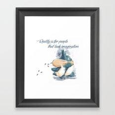 Little Totoros Framed Art Print