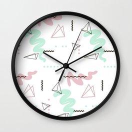Geometry galaxy Wall Clock