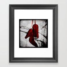 Ruby Slippers Framed Art Print