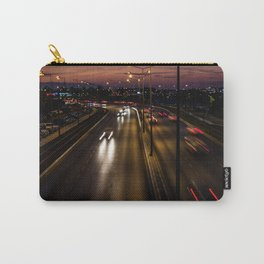Sunset on the seaside street of Izmir (Turkey) Carry-All Pouch