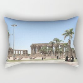 Temple of Luxor, no. 18 Rectangular Pillow