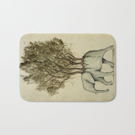 Carrying the Νature Bath Mat