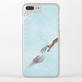 my soul will find yours Clear iPhone Case