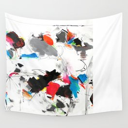 Tribute to Tinguely Wall Tapestry