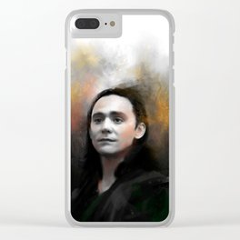 Loki Clear iPhone Case