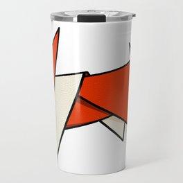 Origami Fox Travel Mug