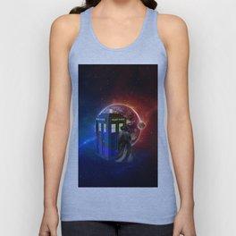 Tardis Dr Who of Nebula Unisex Tank Top