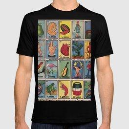 Mexican Bingo Loteria T-shirt