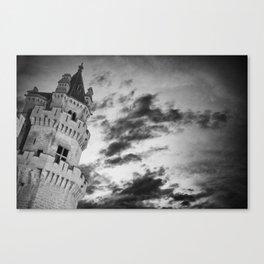 Olite castle (spain) Canvas Print