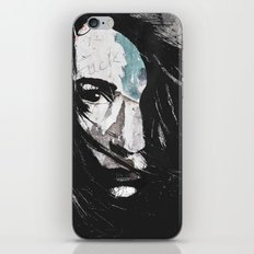 Poverty is the cruelest murder iPhone & iPod Skin