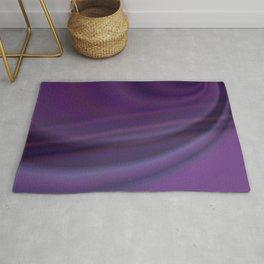 Purple abstract Rug