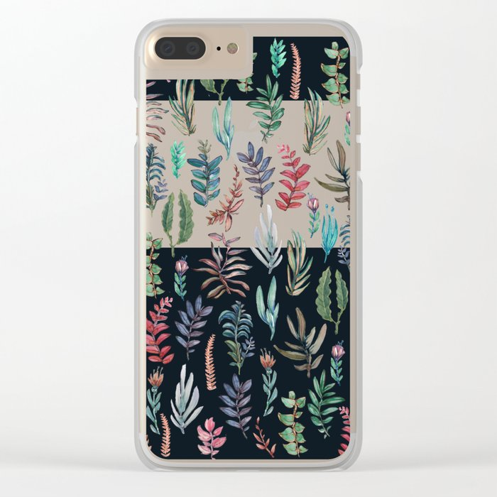 For Her, (nigth Garden!!) Clear iPhone Case