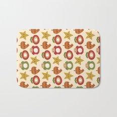 mario items pattern Bath Mat