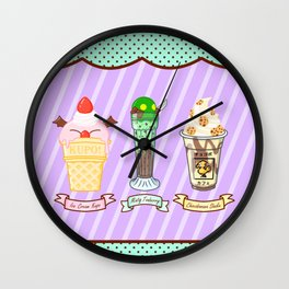 FF Frozen Treats Wall Clock