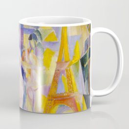 Robert Delaunay - La ville de Paris, 1911 Coffee Mug