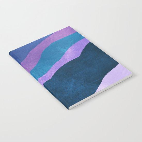 Stratum 7 Violet Breeze Notebook