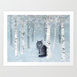Finny Forest Kunstdrucke