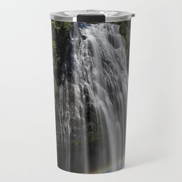 Narada Falls with a Rainbow Travel Mug
