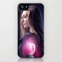 Scarlet Witch iPhone Case
