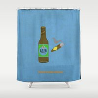 bender Shower Curtains featuring Bender Bending Rodriquez by PyroNipo
