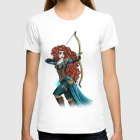 merida T-shirts featuring Steampunk Merida by Hungry Designs