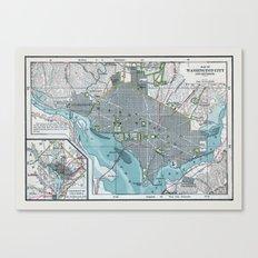 Washington City Canvas Print
