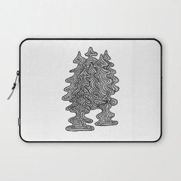 Abstract Xmas Trees Laptop Sleeve