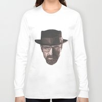 heisenberg Long Sleeve T-shirts featuring Heisenberg  by malobi