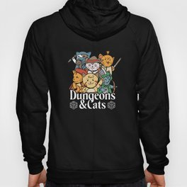 Dungeons and Cats Hoody