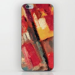 Maroon Colorfield iPhone Skin