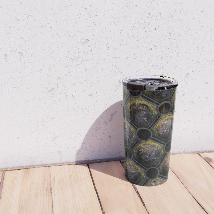 Rubber Doormat Travel Mug