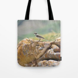 Cape Wagtail Tote Bag