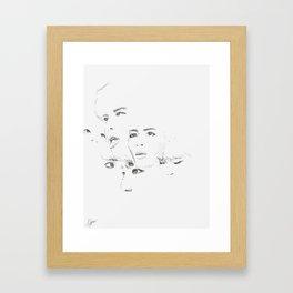 study j Framed Art Print