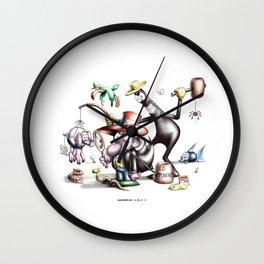 Homage to Jacovitti Wall Clock