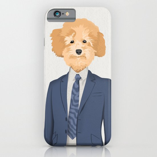 Posing Poodle iPhone & iPod Case