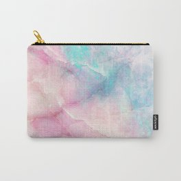 Iridescent marble Carry-All Pouch