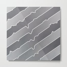 Chromium Peel Metal Print