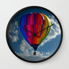 Hot Air Balloon Pic nothing Wall Clock