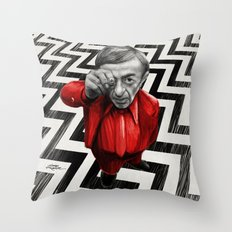 Homage to Twin Peaks - Fire walk with me Throw Pillow